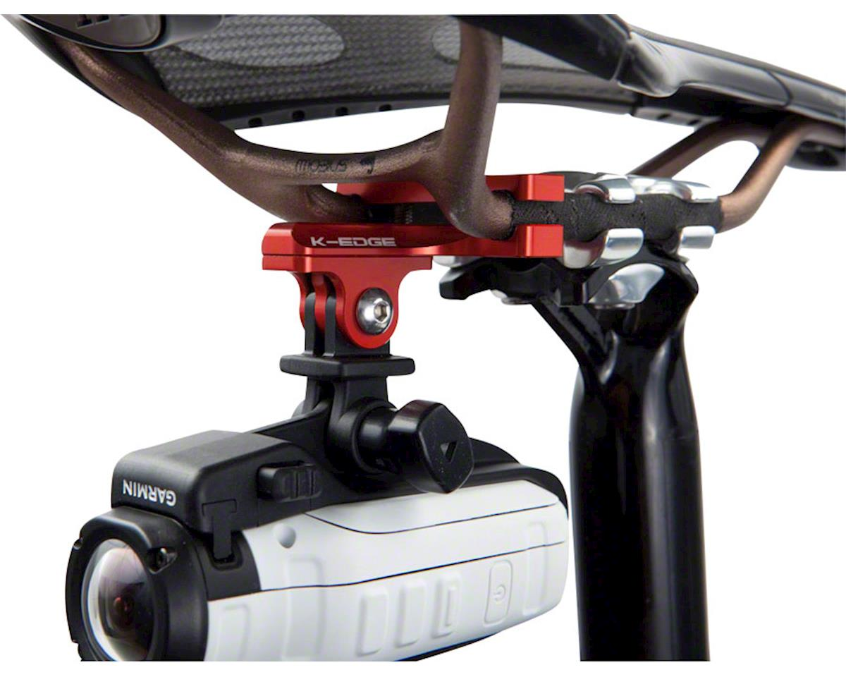 K-EDGE Go BIG Pro Saddle Rail Camera Mount for GoPro Garmin and Shimano
