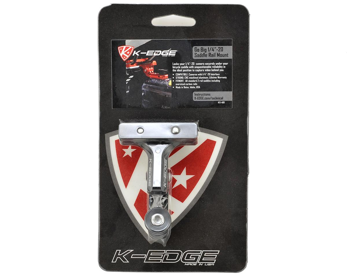 K-Edge Universal Camera Pro Saddle Rail Mount (Black)