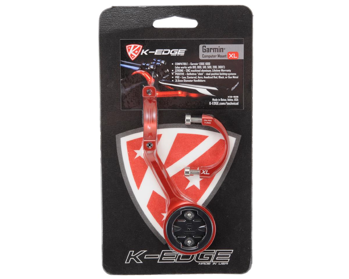 K-Edge Garmin Mount XL (Red)