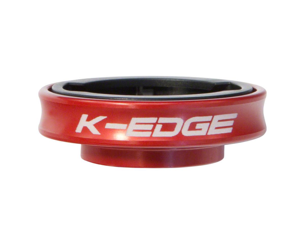 K-EDGE Adjustable Stem Mount for Garmin Quarter Turn Type Computers Black
