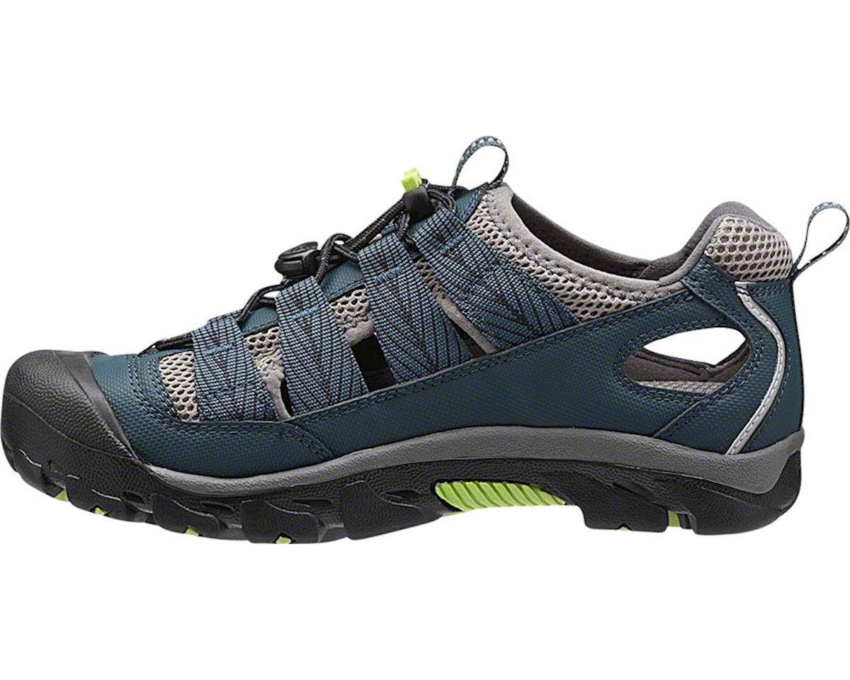 Keen Women's Commuter 4 Sandal: Midnight Navy/Green Glow 5