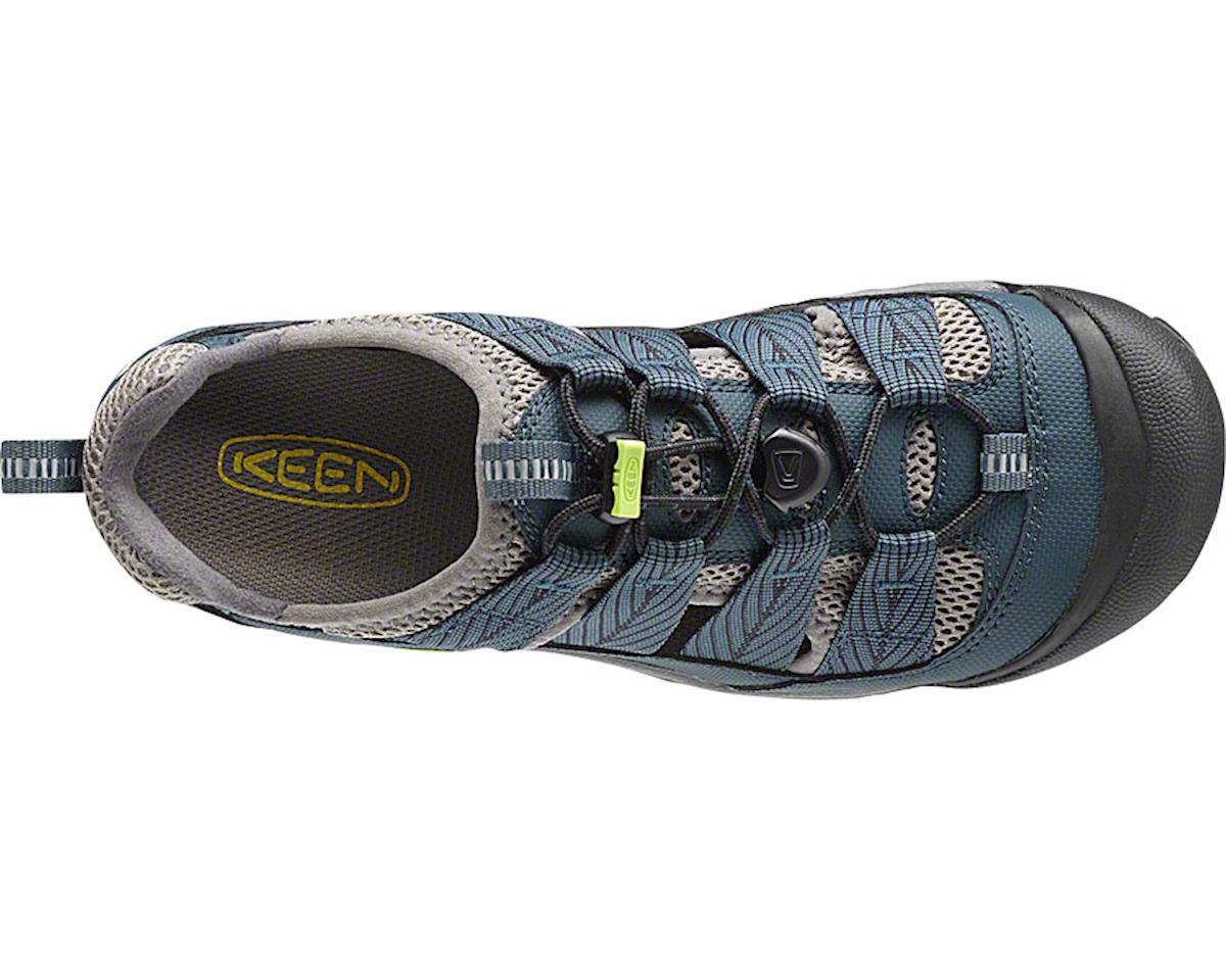 Keen Women's Commuter 4 Sandal: Midnight Navy/Green Glow 5