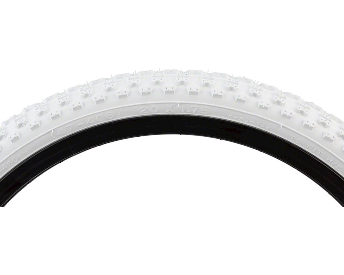 "K50 Tire 20x1.75"" Steel Bead White"