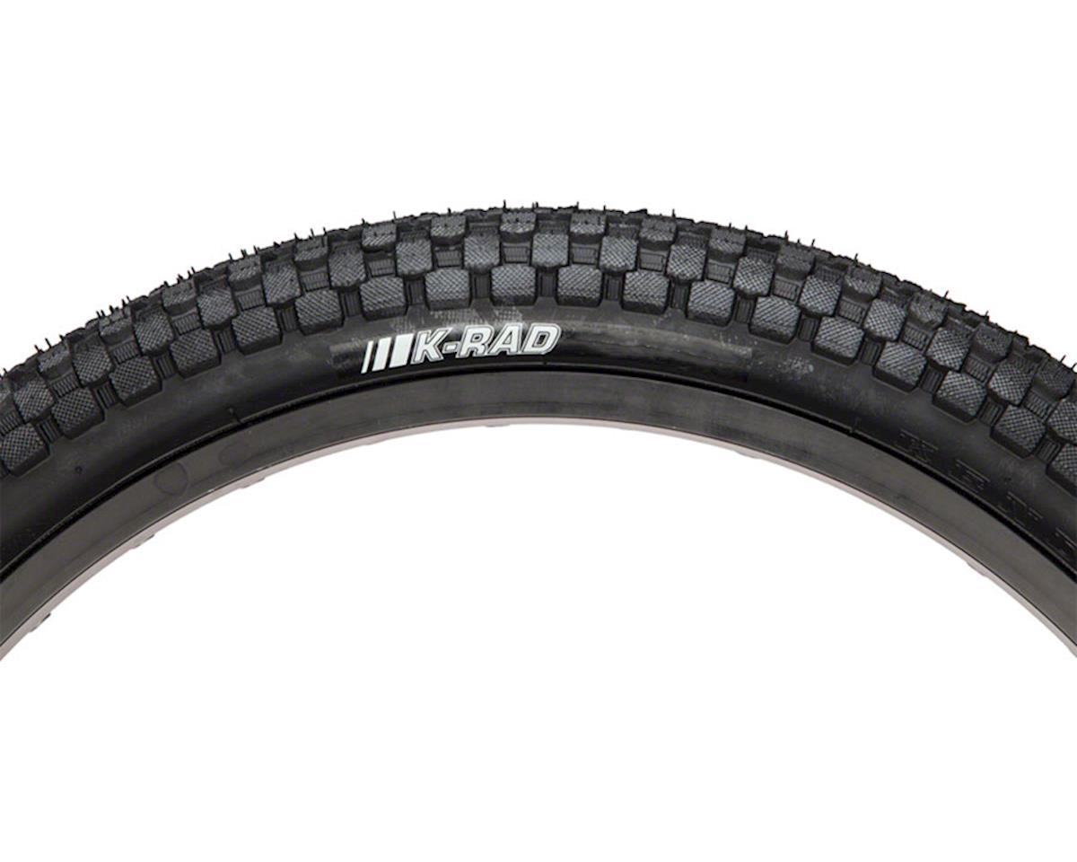 """K-Rad K905  Tire 20"""" x 1 .95"""" Steel Bead Black"""