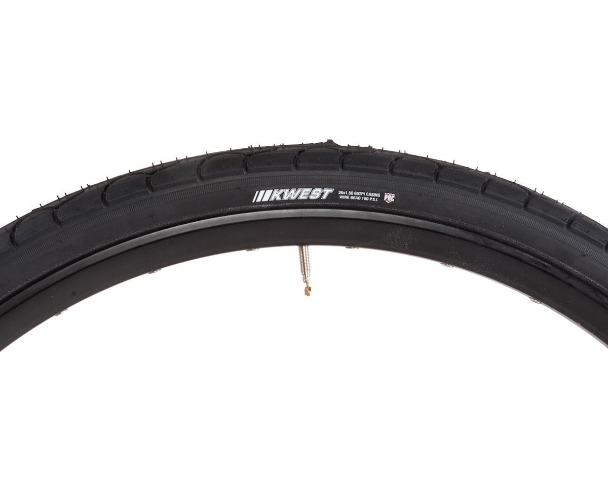 """Kenda Kwest 26"""" Semi-Slick Tire (Black) (26 x 1.5)"""