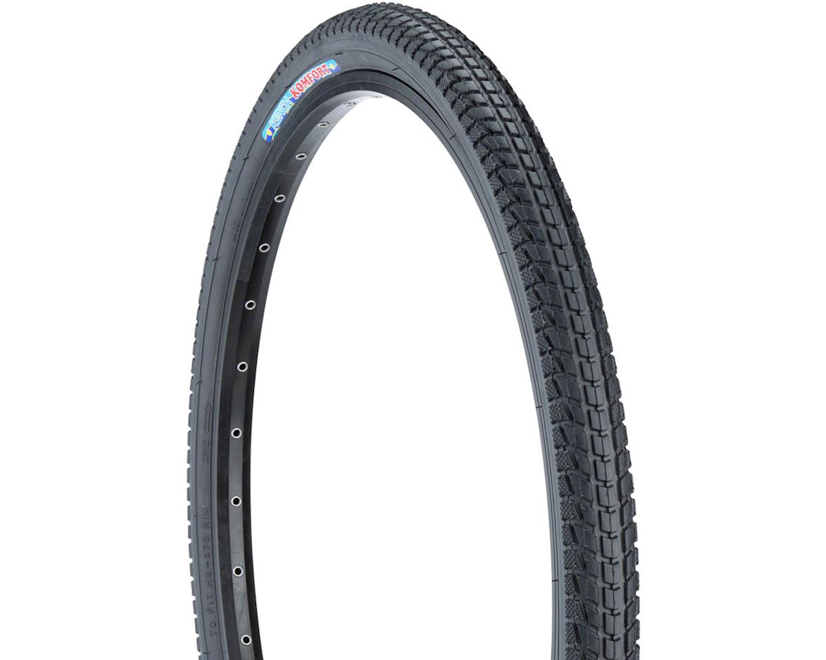 Kenda Komfort Tire - 26 x 1.95, Clincher, Steel, Black, 60tpi