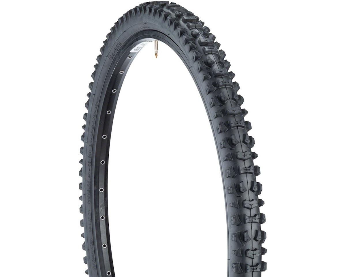 Smoke-Style Tire 26x2.1 Steel Bead Black