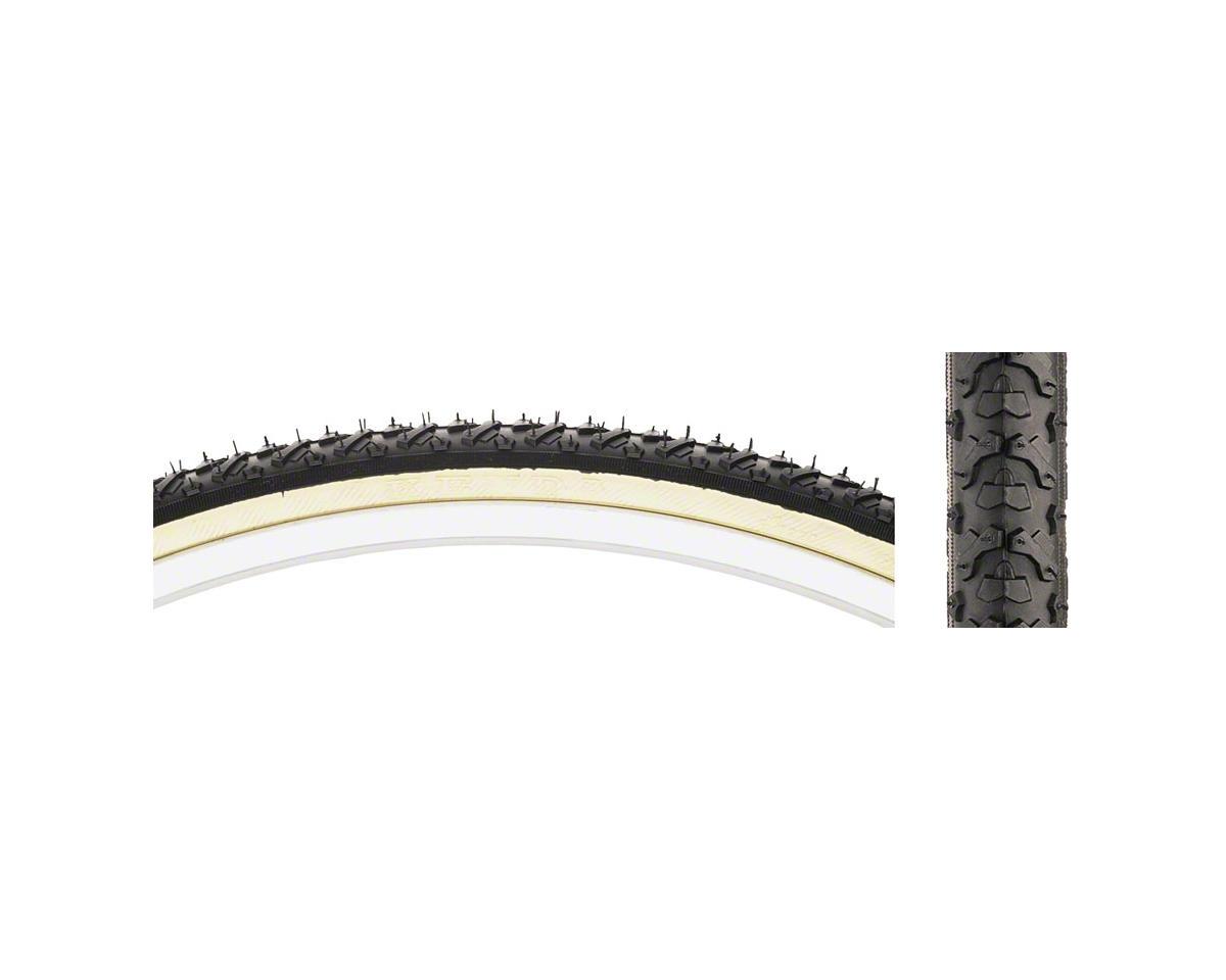 K161 KrossCyclo Tire 27x1 3/8 Steel Bead Black/Tan