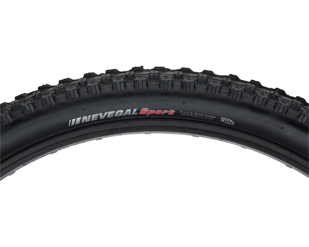 "Nevegal Sport Tire: 26"" x 2.1"" Steel Bead, Black"
