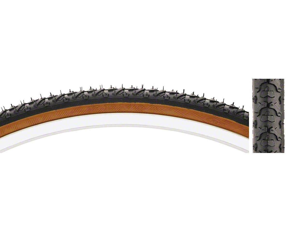 K161 KrossCyclo Tire 700x35c Steel Bead Black/Mocha