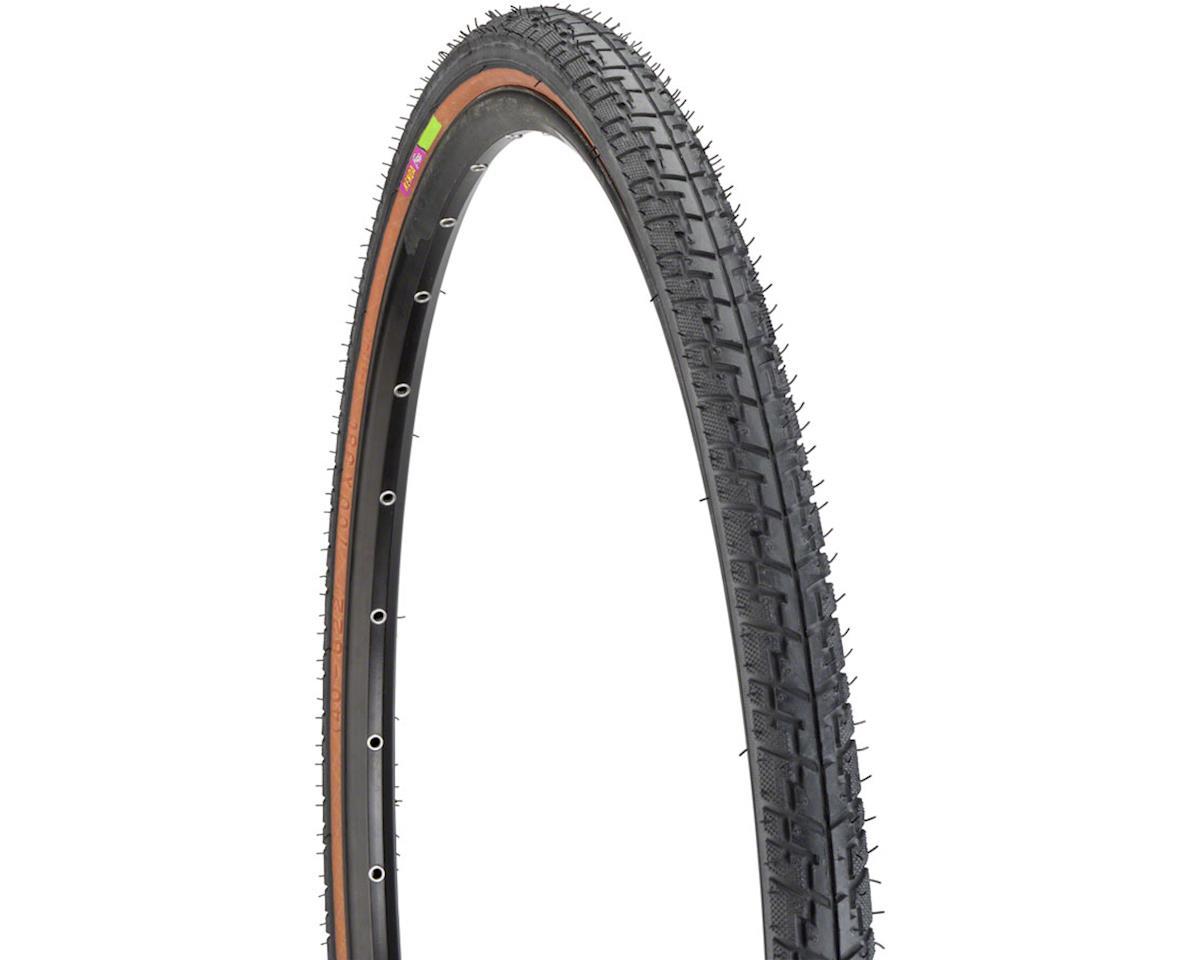 Kenda Street K830 Hybrid Tire 700 x 38 Steel Bead Mocha Side Wall