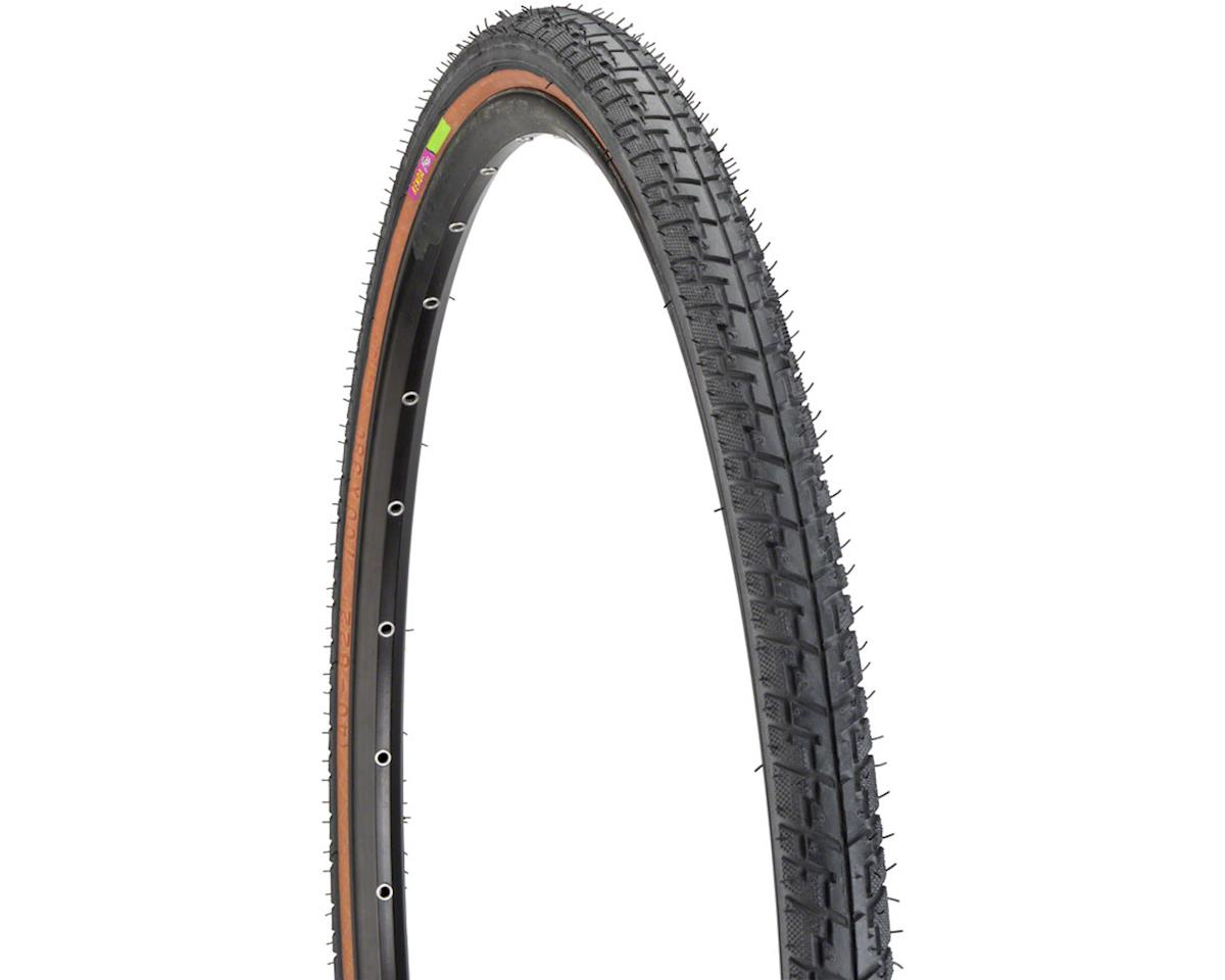 Kenda Street K830 Hybrid Tire 700 x 38 Steel Bead Mocha Side Wall