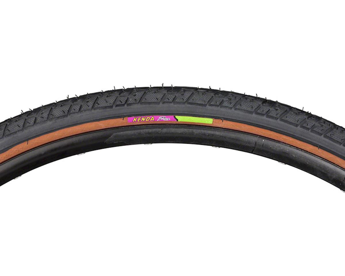 Kenda Street K830 Tire - 700 x 38, Clincher, Wire, Black/Mocha, 60tpi