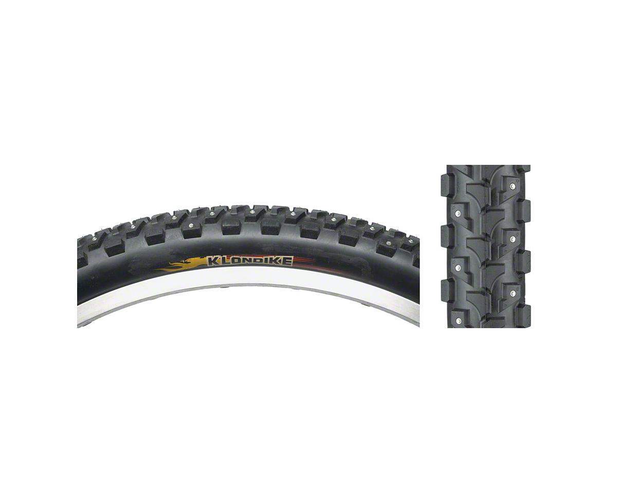 Klondike K946 Studded Tire 26x1.95, 168 Studs Steel Bead Black