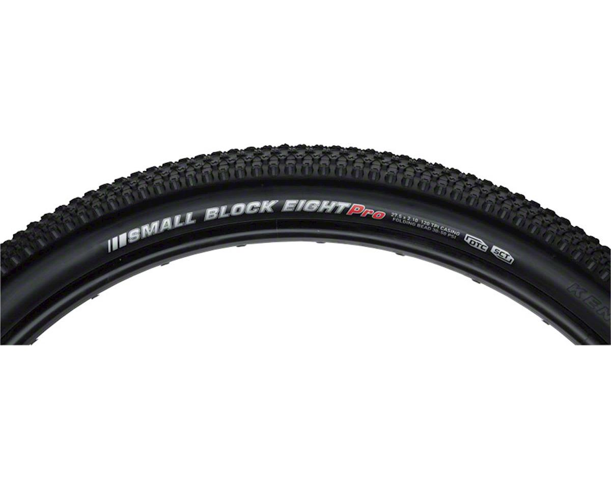 "Kenda Small Block 8 Pro Tire: 27.5"" x 2.1"" DTC and KSCT Folding Bead, Black"