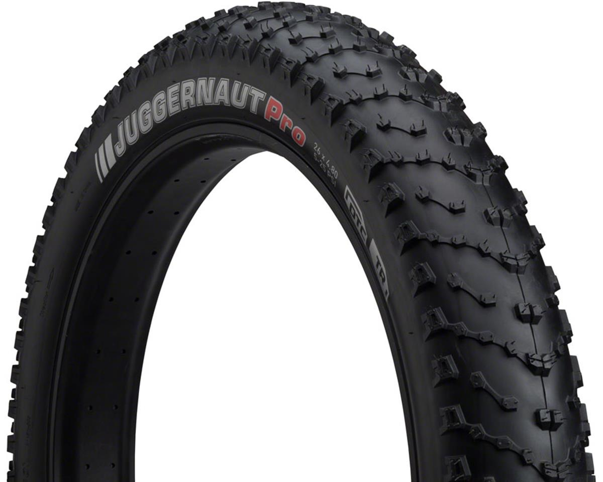 Kenda Juggernaut Tire - 26 x 4.8, Clincher, Folding, Black