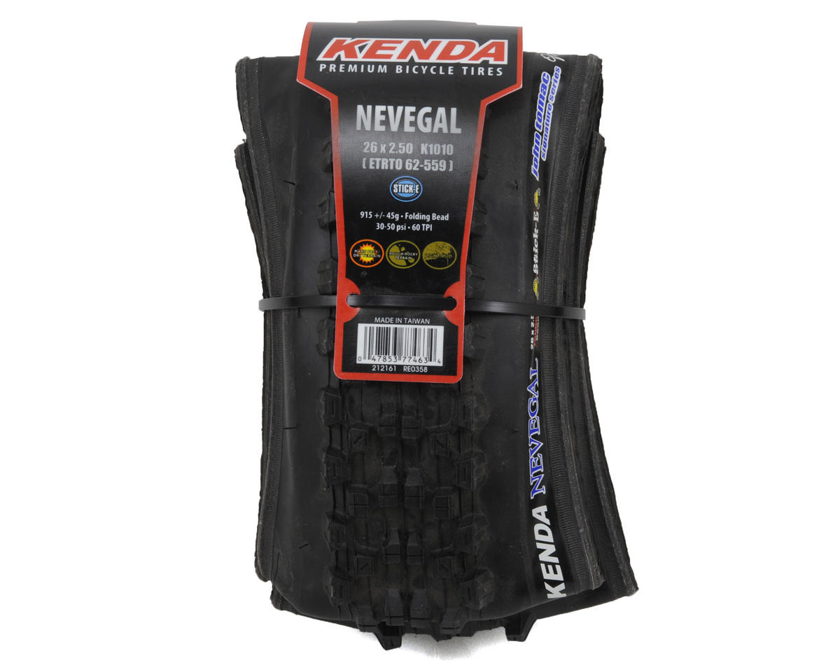 "Kenda Nevegal 26"" Folding Tire (Stick-E)"