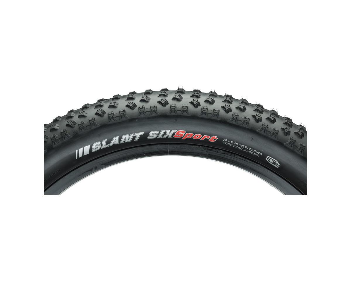 Kenda Slant 6 Tire - 20 x 2.6, Clincher, Wire, Black