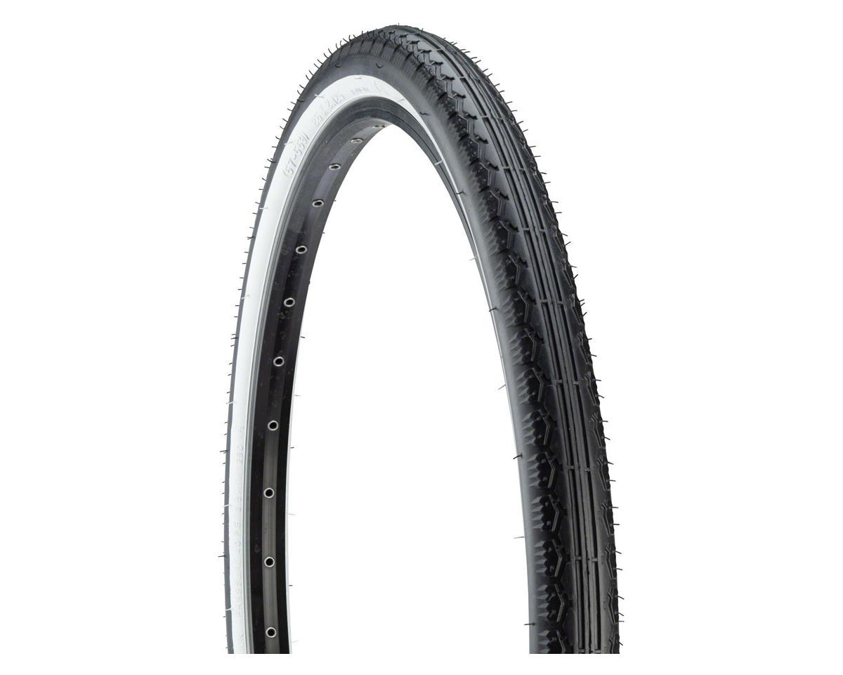 Sunlite K130 Street Bike Bicycle Tire 26x2.125 Black//black