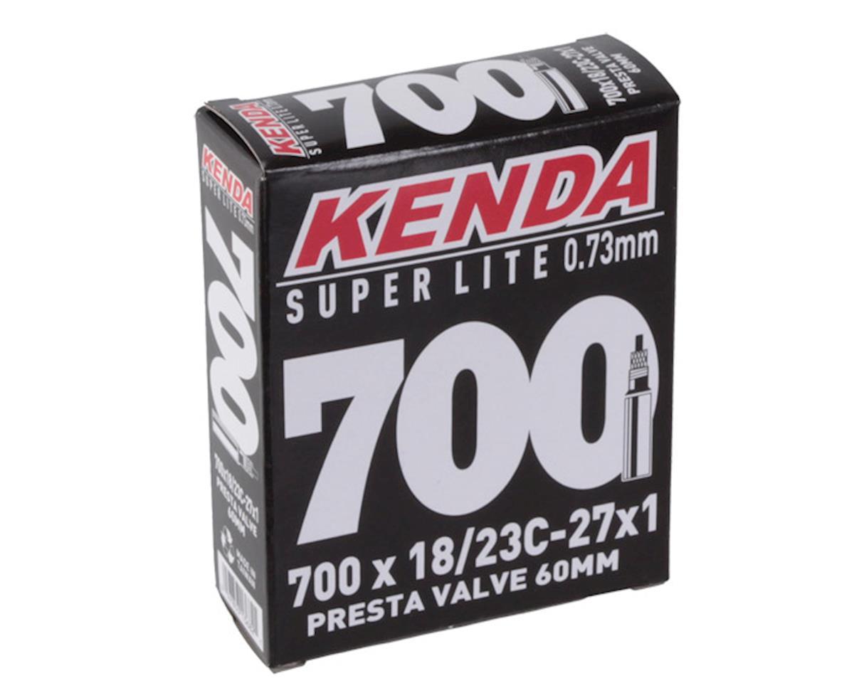 4 x Vittoria Lite Presta Valve Inner Tube Black Size 700c x 18//23c 60mm