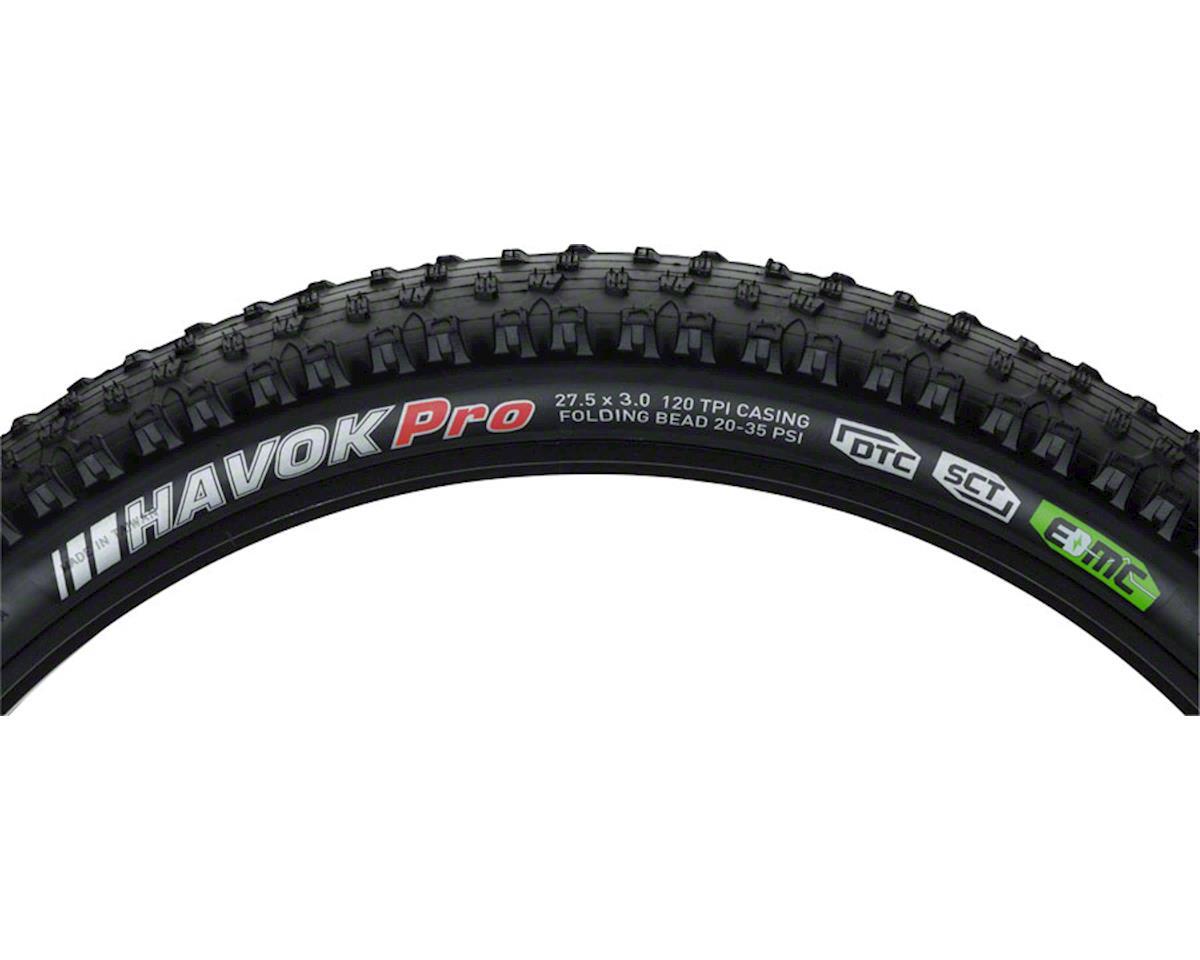 "Kenda Havok Pro Tire: 27.5 x 3.0"" DTC/SCT with EMC construction and Folding Bead"