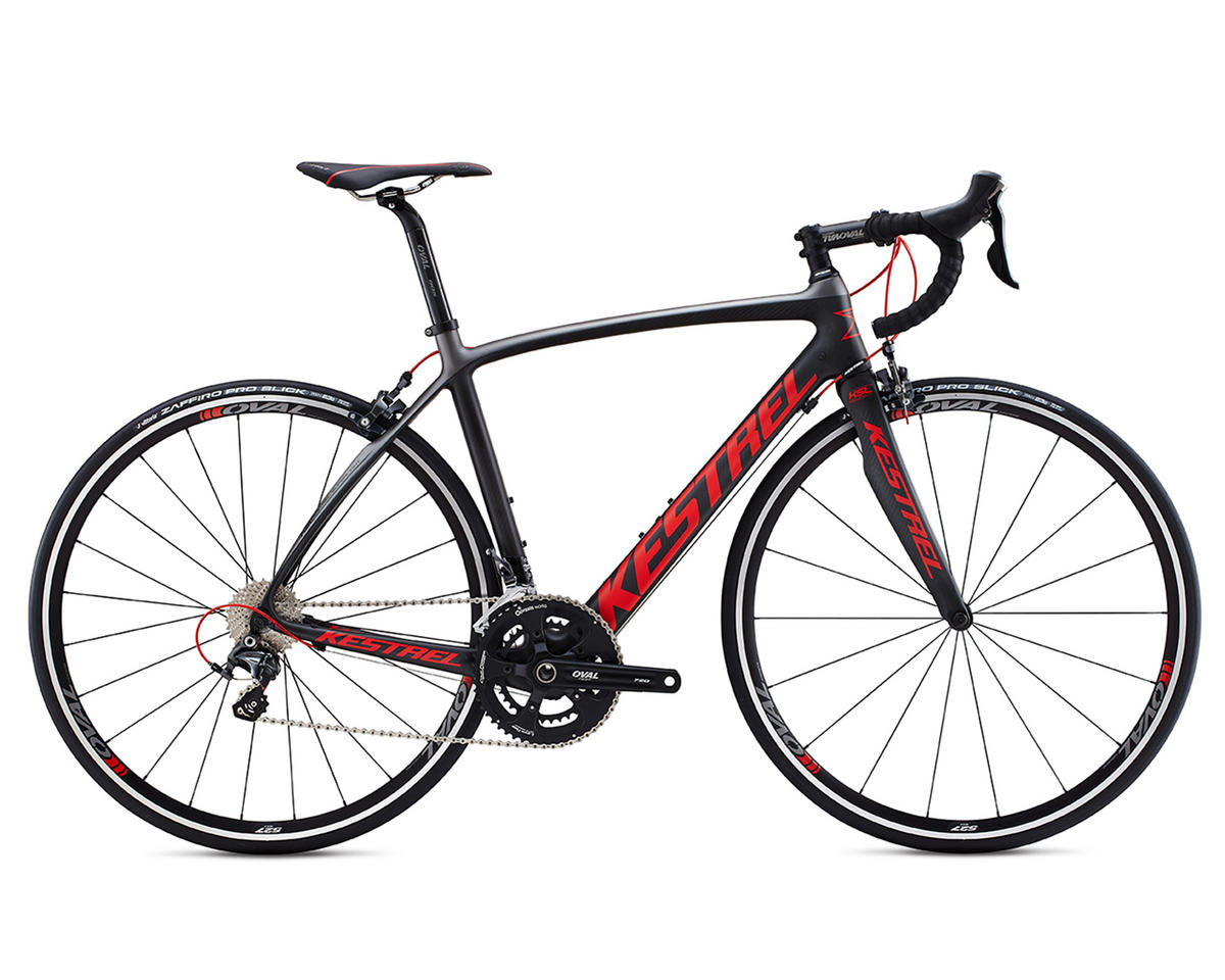 Kestrel Legend Ultegra Carbon Road Bike (Carbon/Gray/Red)