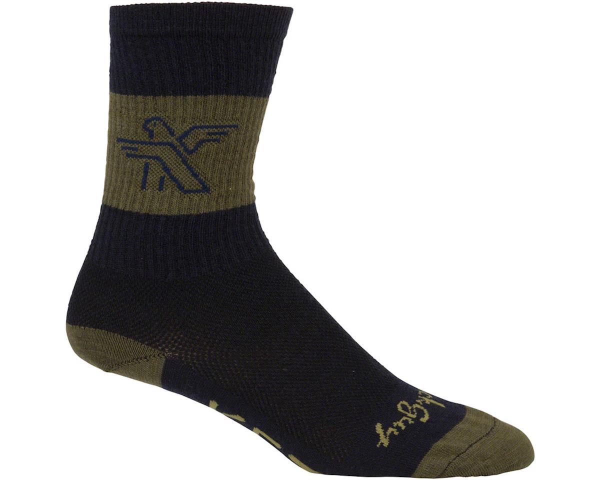 Ketl Logo Wool Socks (Green)