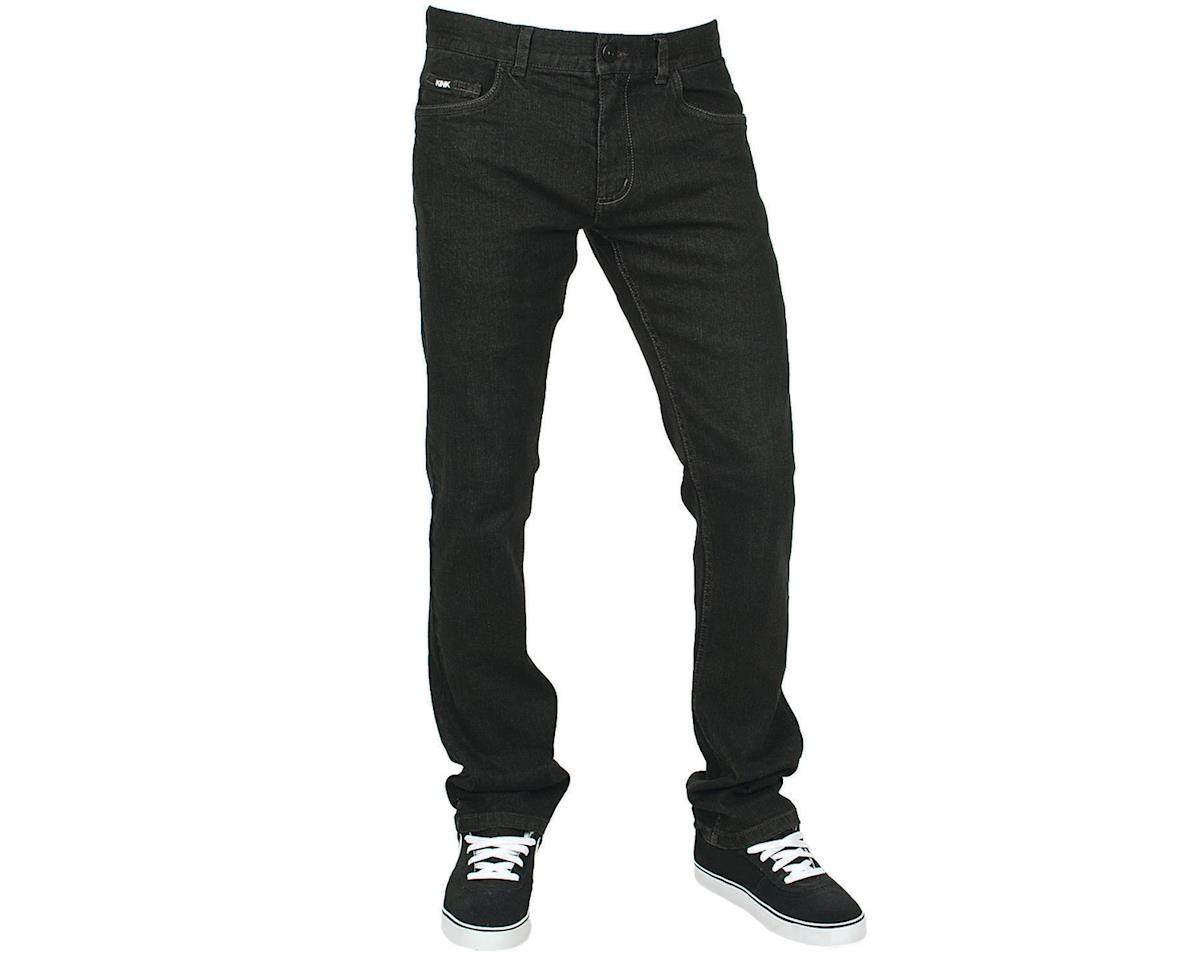 Kink Refuge Straight Fit BMX Jeans (Black)