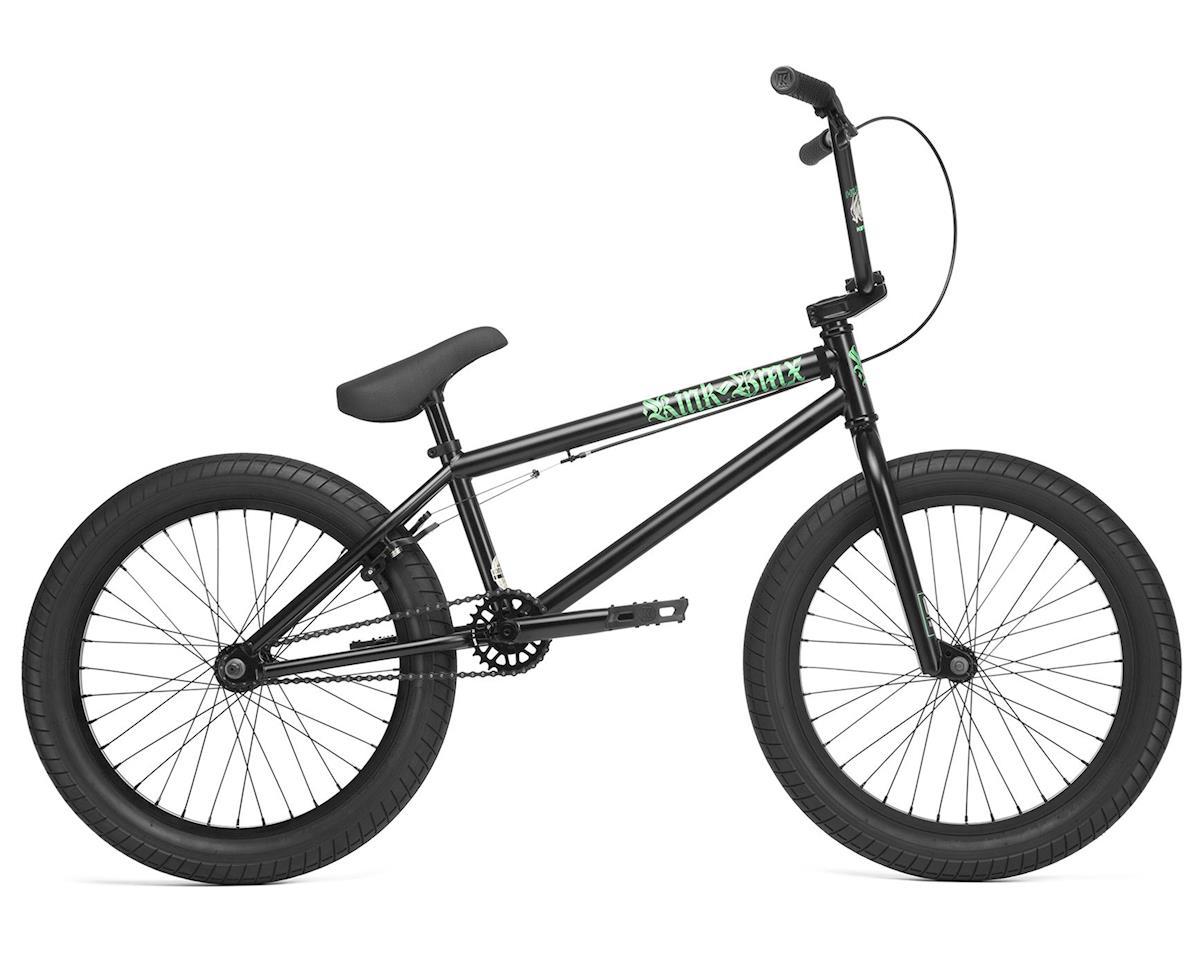 """Kink 2020 Curb 20"""" BMX Bike (20"""" Toptube) (Matte Guinness Black)"""