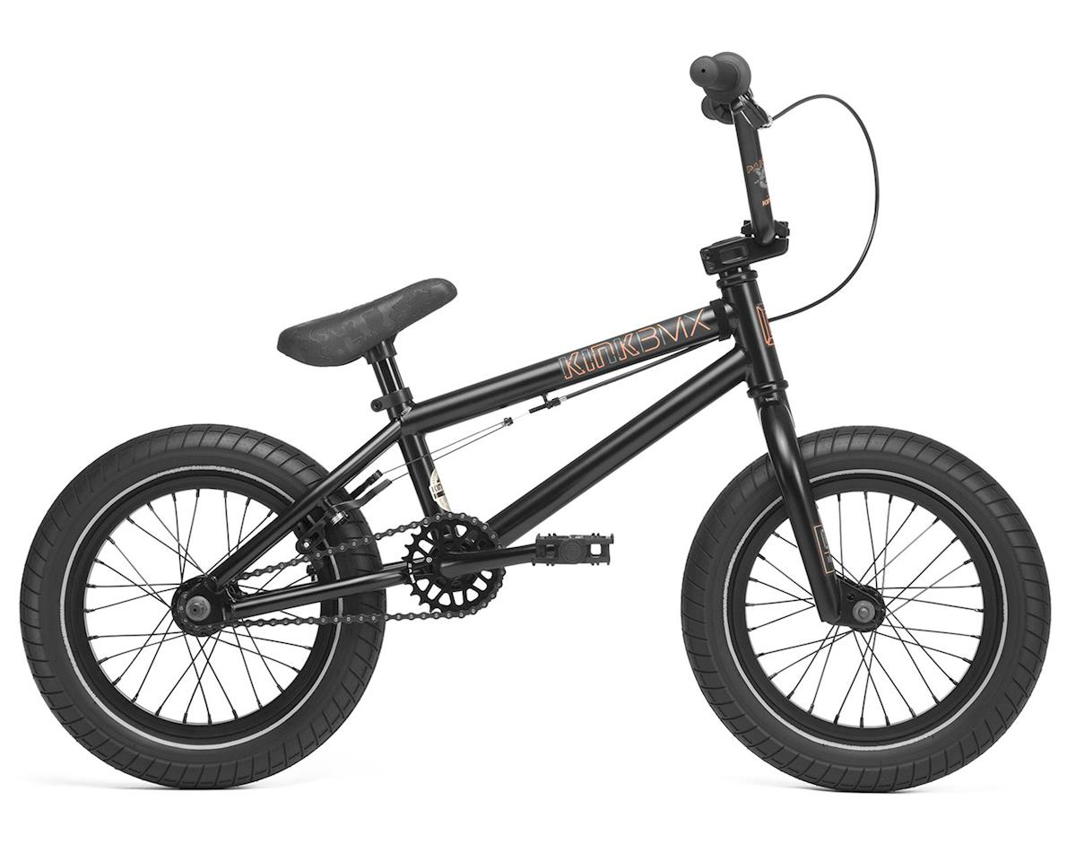 "Kink 2020 Pump 14"" Kids BMX Bike (Matte Guinness Black)"