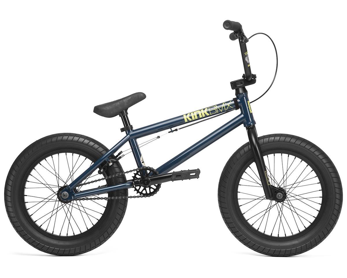 """Kink 2020 Carve 16"""" BMX Bike (16.5"""" Toptube) (Gloss Dusk Navy)"""