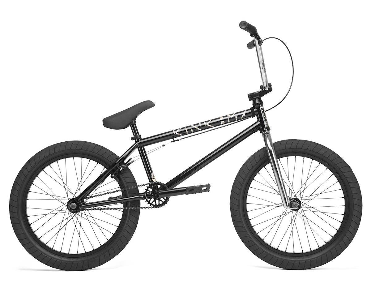 "Kink 2020 Launch 20.25"" BMX Bike (20.25"" Toptube) (Gloss Guinness Black)"