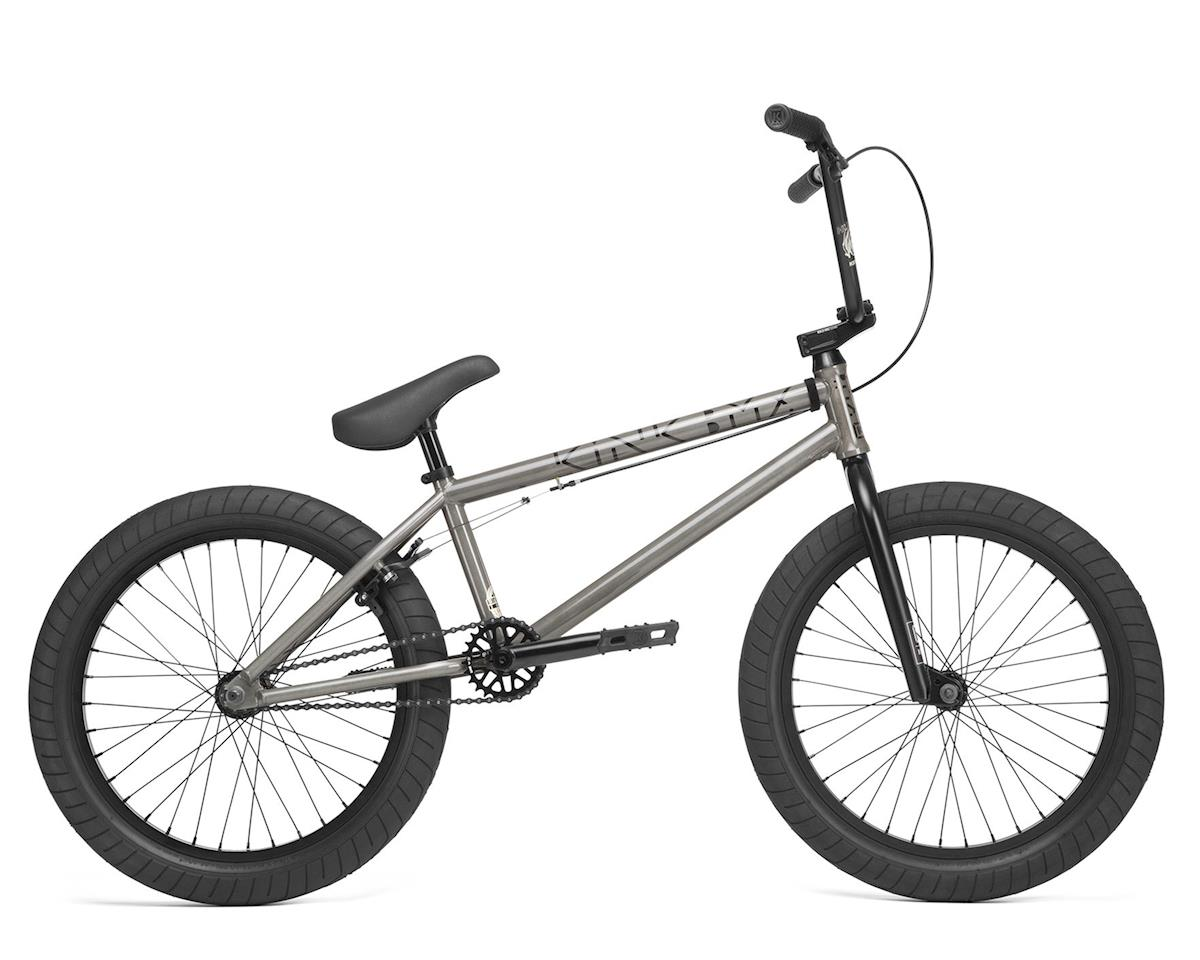 "Kink 2020 Launch 20.25"" BMX Bike (20.25"" Toptube) (Gloss Raw Holographic)"