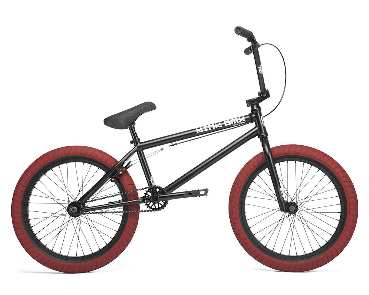 """Kink 2020 Gap 20.5"""" FC BMX Bike (20.5"""" Toptube) (Matte Guinness Black w/ Red Tires)"""