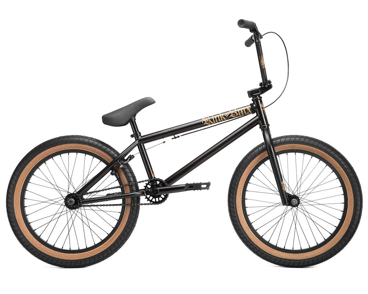 """Kink Curb 20"""" BMX Bike (Matte Black Goldschlager)"""