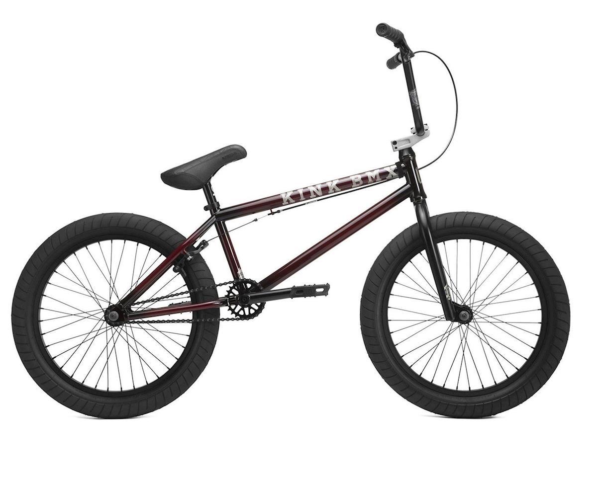 "Kink Gap 20.5"" BMX Bike (Gloss Trans Black Cherry Friction Fade)"