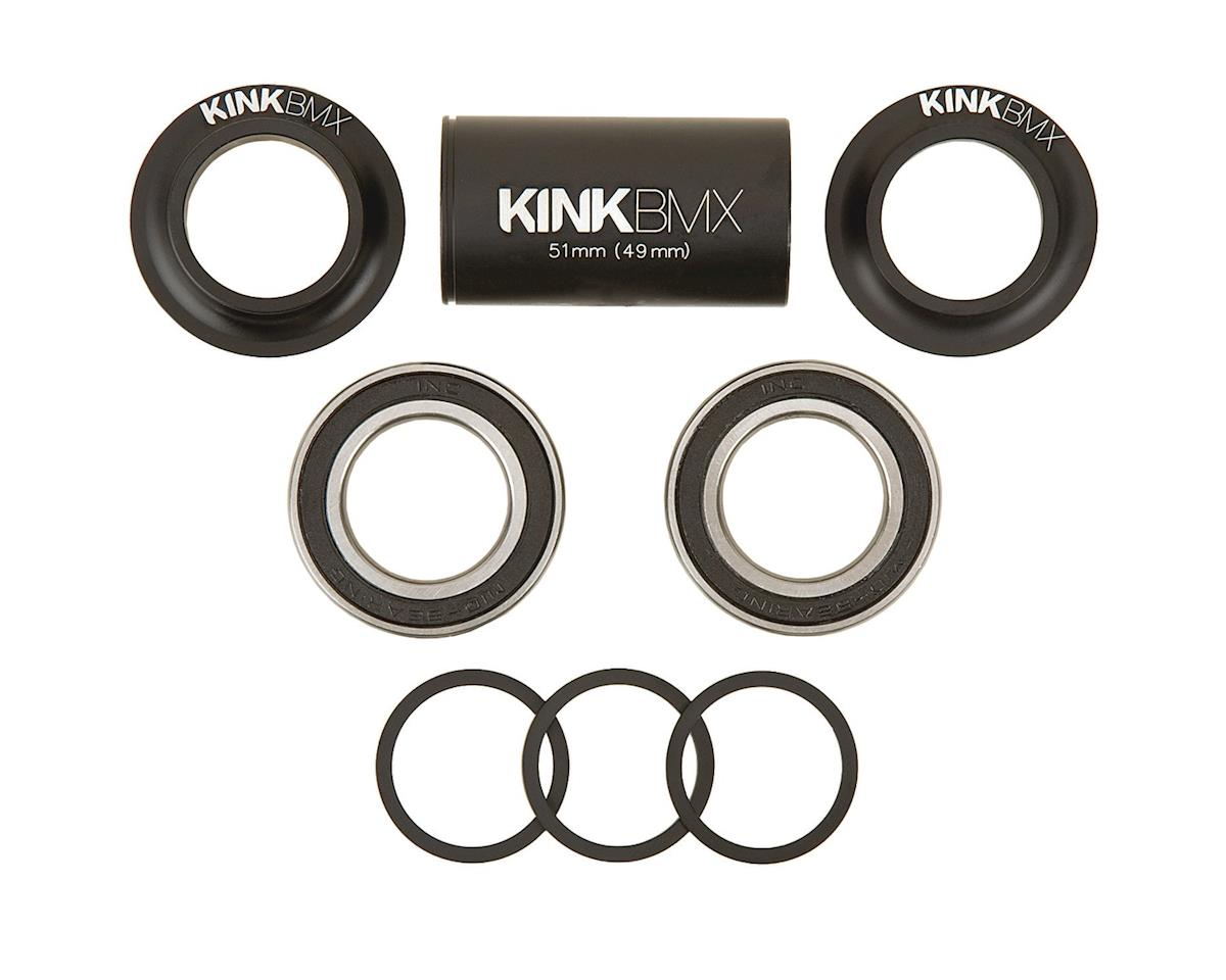 Kink Mid Bottom Bracket Kit (Matte Black) (19mm)
