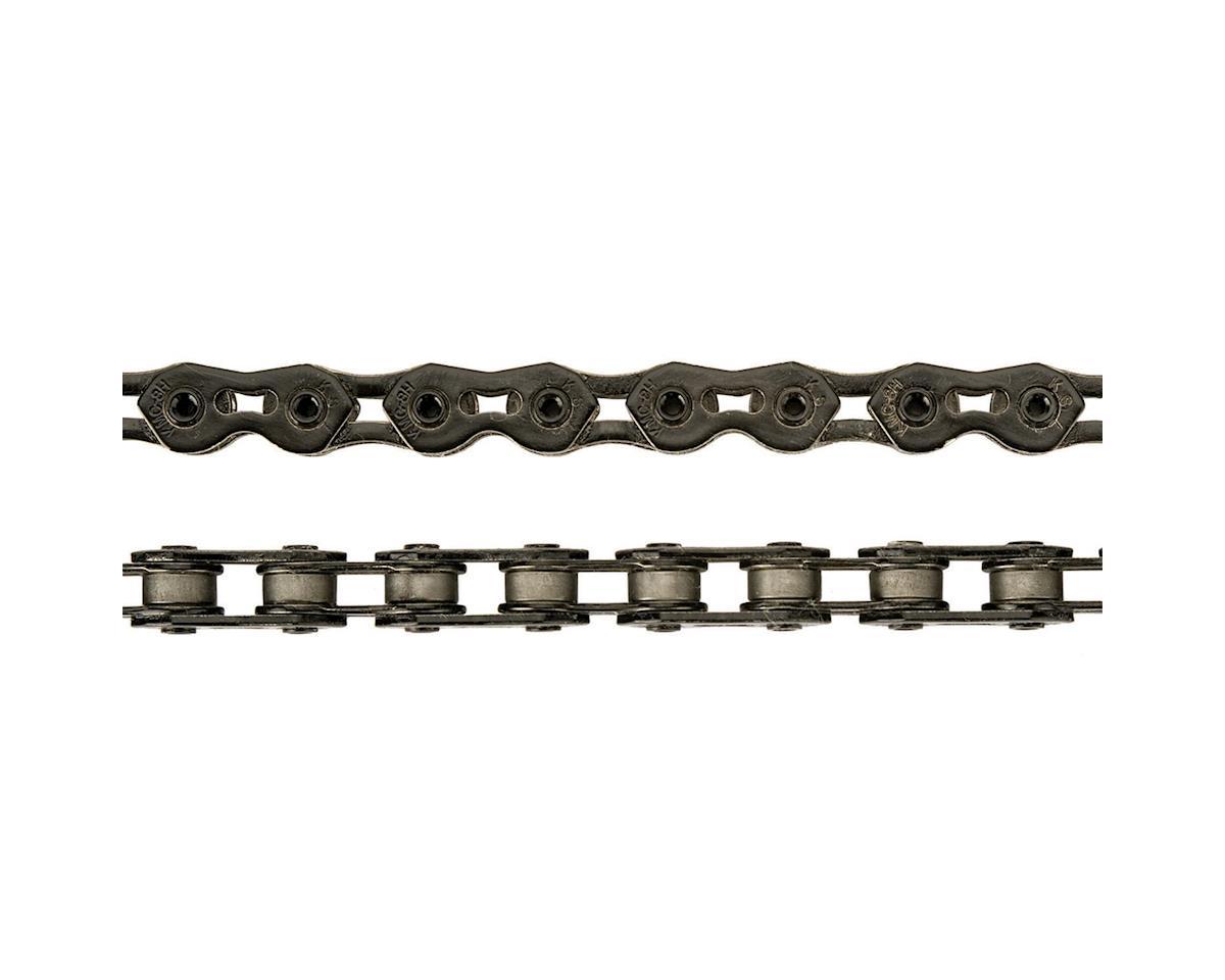 """KMC K710SL SuperLite Kool Chain - Single Speed 1/2"""" x 1/8"""", 100 Links, Black"""