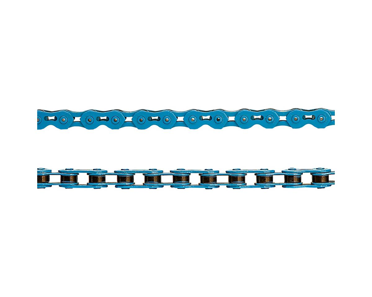 "KMC K710SL SuperLite Kool Single Speed Chain (Blue) (100 Links) (1/8"")"