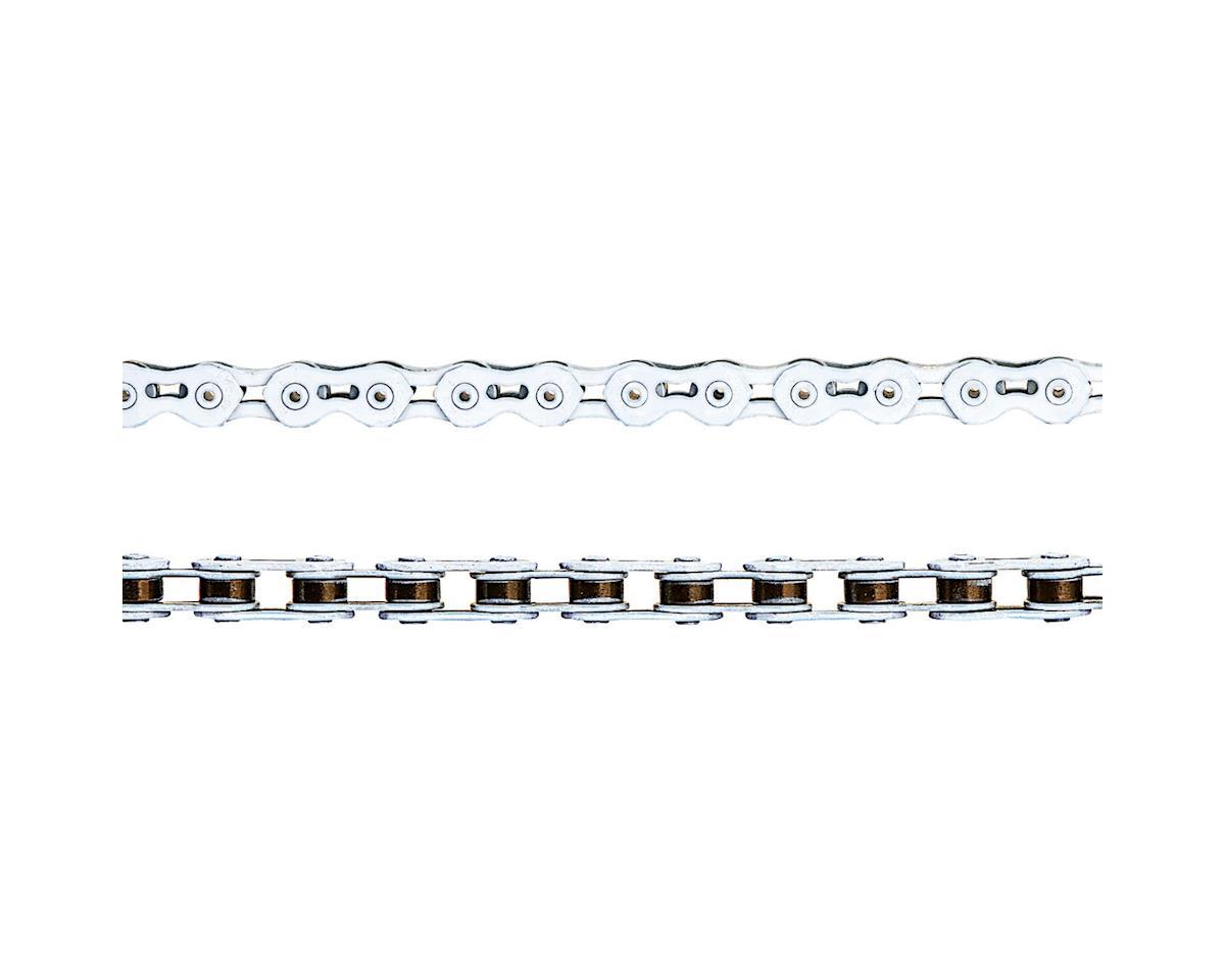 "KMC K710SL SuperLite Kool Chain - Single Speed 1/2"" x 1/8"", 100 Links, White"