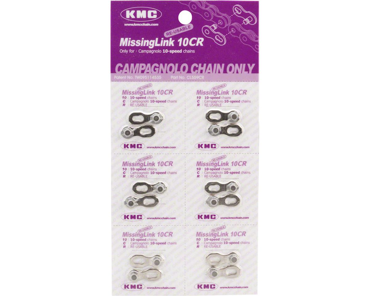 KMC MissingLink 10CR: for Campagnolo 10-Speed Chains, Silver