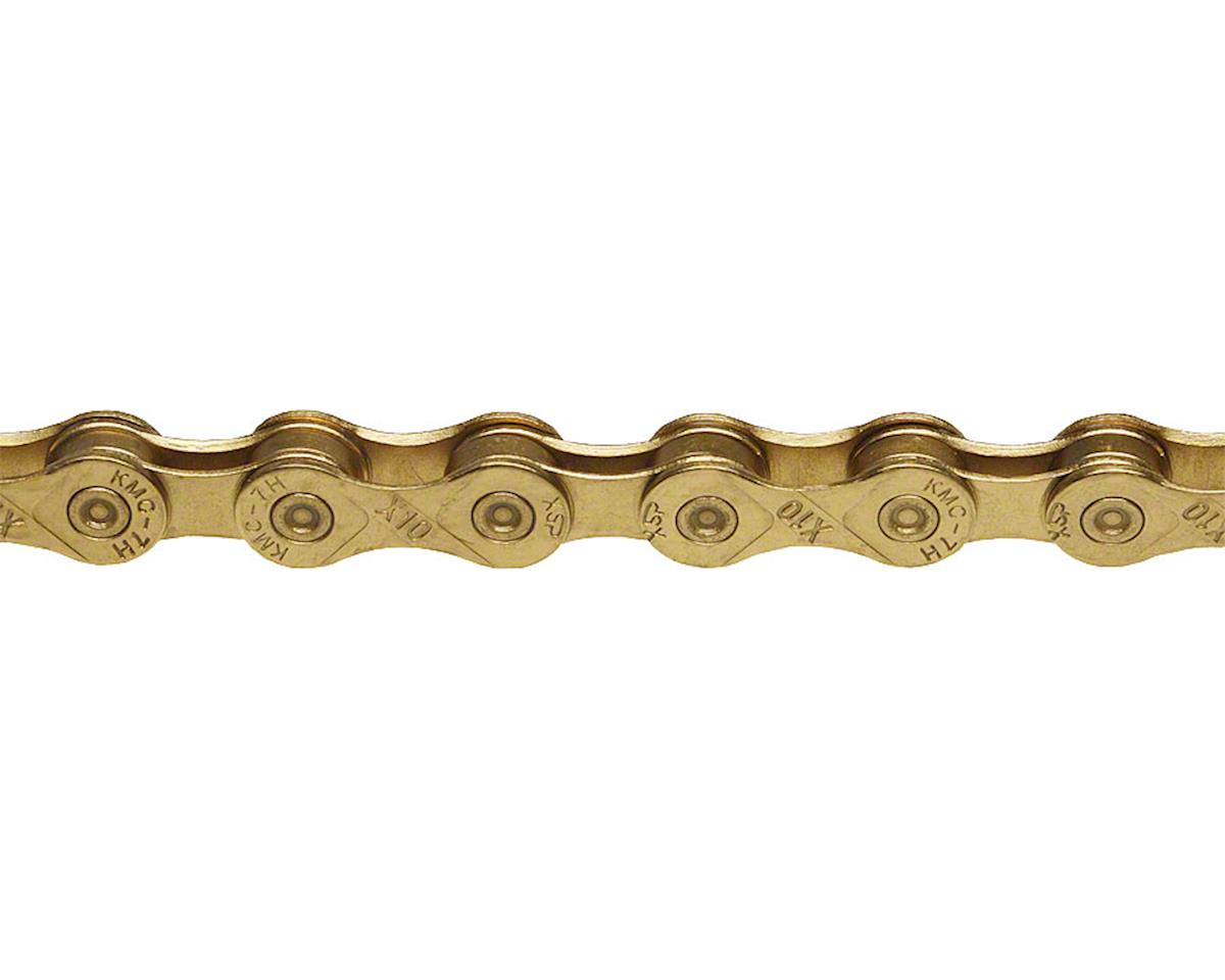 KMC X10Ti Chain (10-Speed) (116 Links) (Gold)