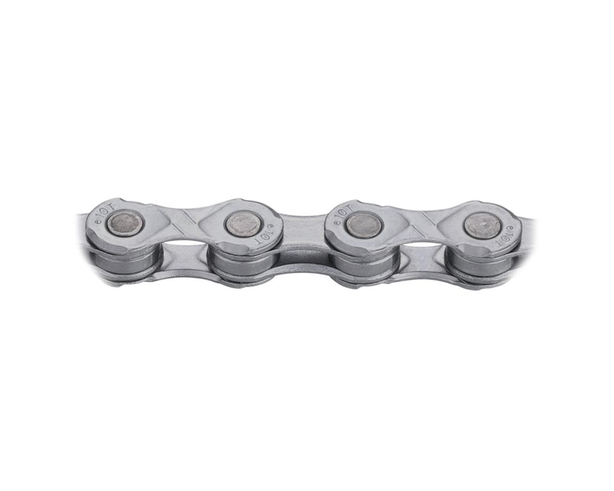 KMC X10e-Turbo eBike Chain: 136 Links, Gray