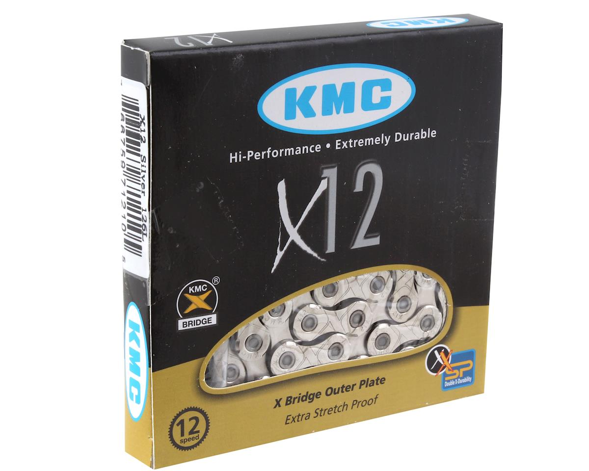 KMC X12 Chain (12-Speed) (126 Links) (Silver)
