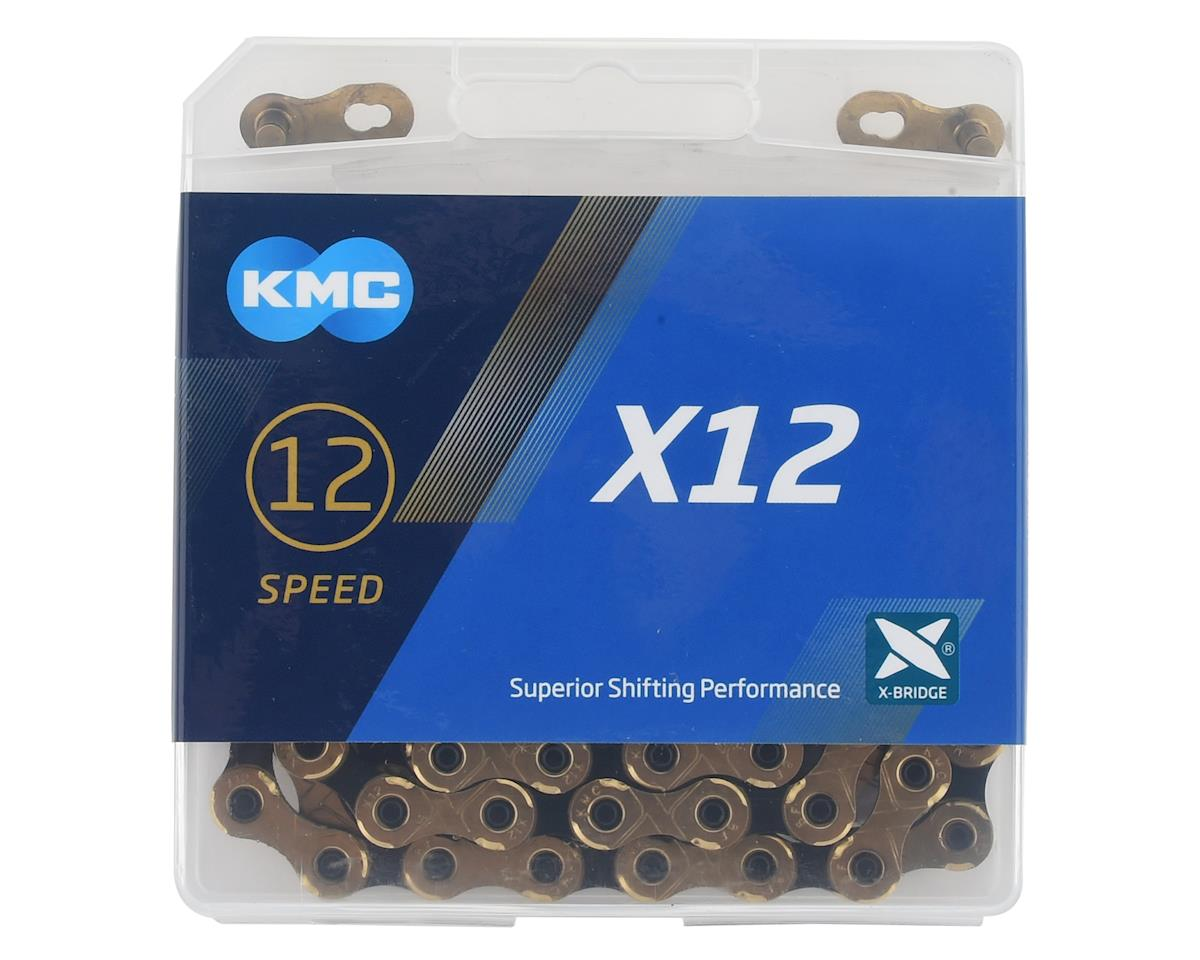 KMC X12 Chain (126 Links) (Gold/Black)