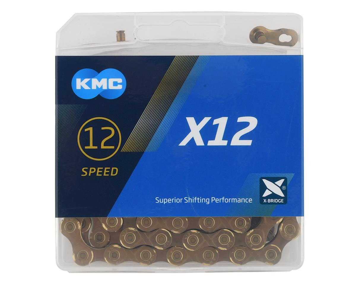 KMC X12 Chain (126 Links) (Gold)