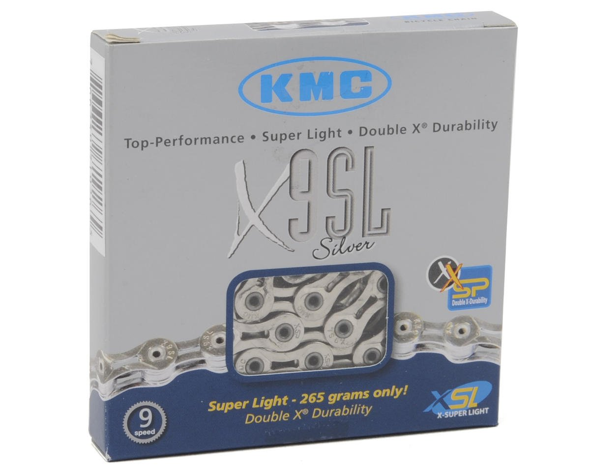 KMC X9 SL 9-Speed Chain (Silver)