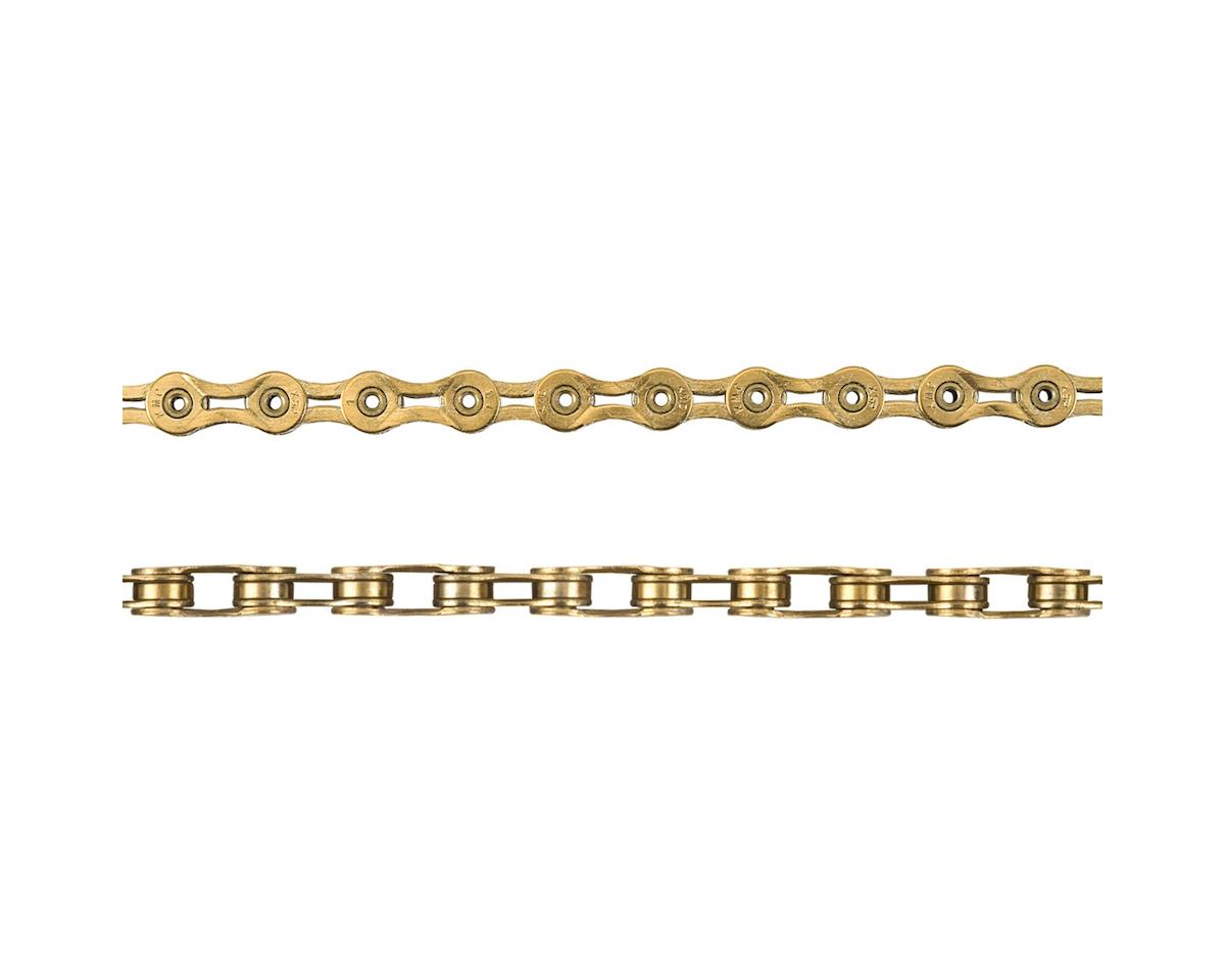 KMC X9SL Chain: 9 Speed 116 Links Ti Nitride Gold