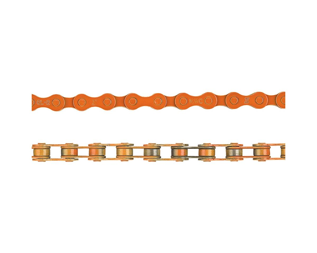 "KMC Z410 Chain (1/8"") (112 Links) (Orange)"
