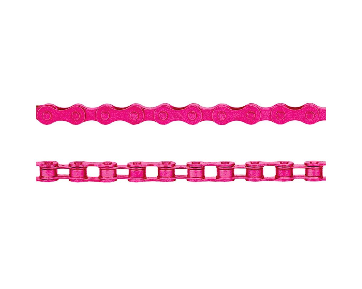"KMC Z410 Chain (1/8"") (112 Links) (Pink)"